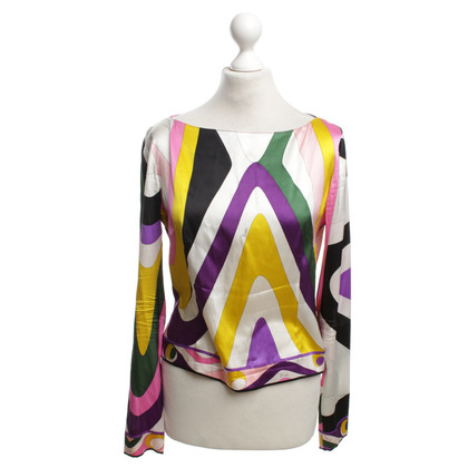 Emilio Pucci Blouse with pattern