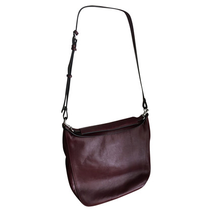 Marc by Marc Jacobs Borsa in pelle Bordeaux