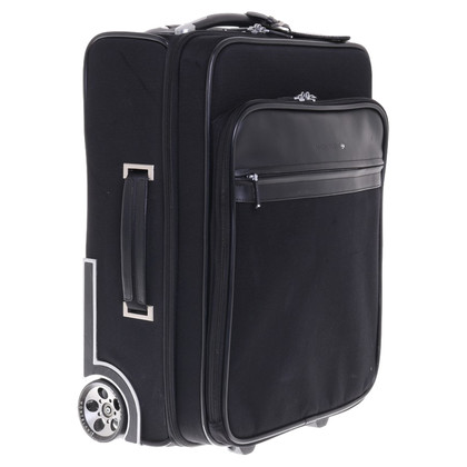Mont Blanc Trolley with leather trim