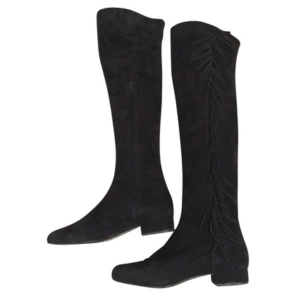 Saint Laurent Overknee-boots