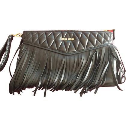 Miu Miu clutch leather