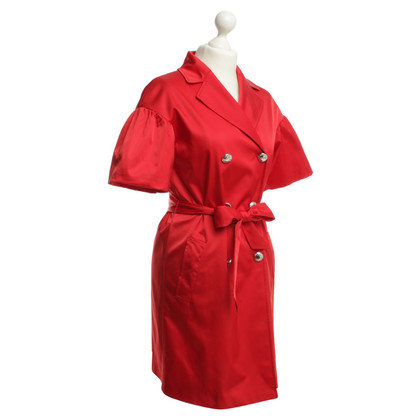 Moschino Love Kurzärmeliger coat in red
