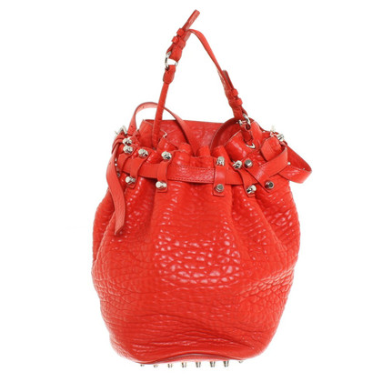 "Alexander Wang ""Diego Bag"" in rosso"