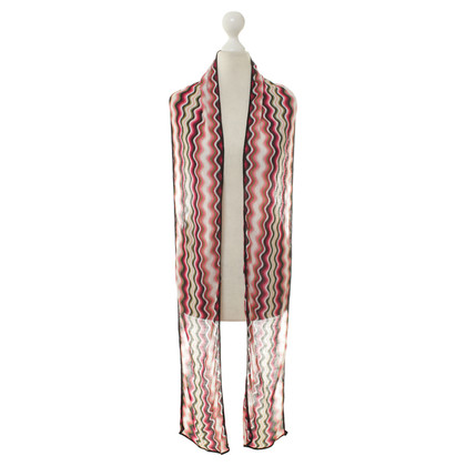 Missoni Fine knit scarf