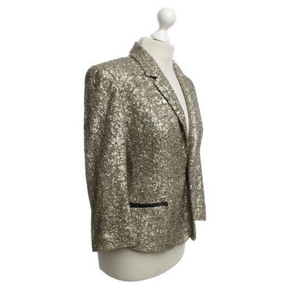 Zadig & Voltaire Gold color blazer