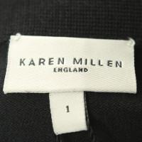 Karen Millen Strickkleid in Schwarz
