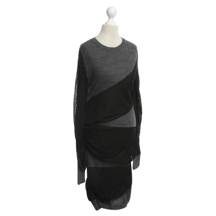 Isabel Marant Long top in bicolor