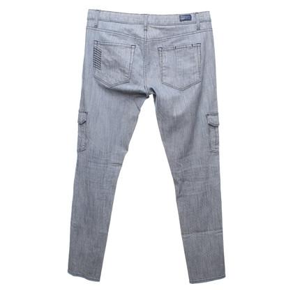 Paige Jeans Pantalon en bi-couleur