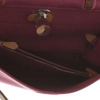 """Hermès """"Herbag"""" in Violett/Braun"""