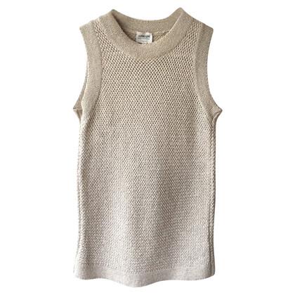 Armani Collezioni Trui vest in zilver
