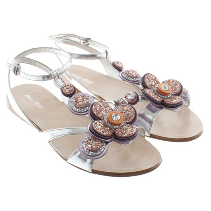 Miu Miu Sandals with application