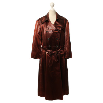 DKNY Trench coat in ruggine