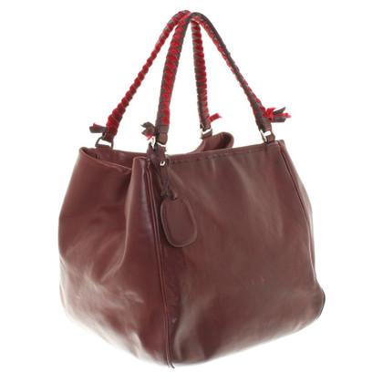 Malo Handbag in Bordeaux