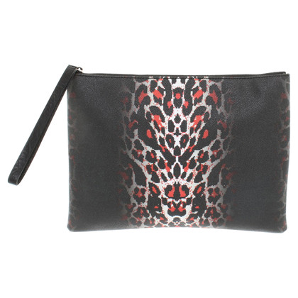 Alexander McQueen clutch in Animal Art