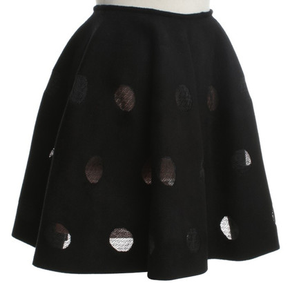 Alaïa skirt in black