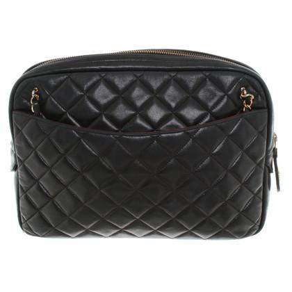 Chanel Gewatteerde handtas in zwart