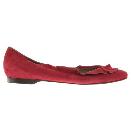 Alberta Ferretti Ballerinas in red