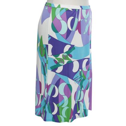 Emilio Pucci skirt in multicolor