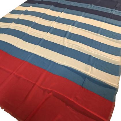 Chanel Kaschmir-Tuch mit Streifenmuster