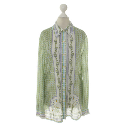 Tory Burch Cotton blouse with patterns