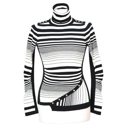 Karen Millen Top in zwart / wit