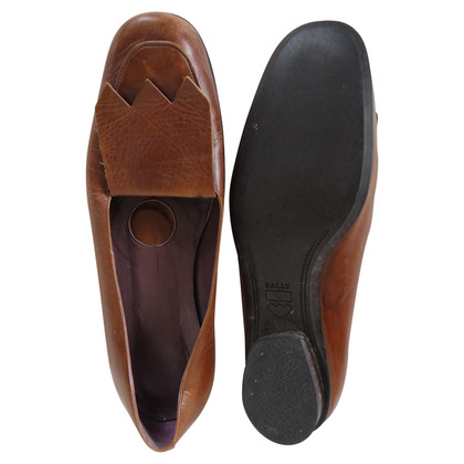 Bally Brown loafers