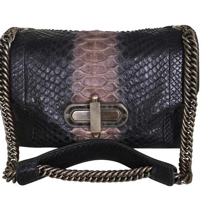 Bally Snakeskin bag