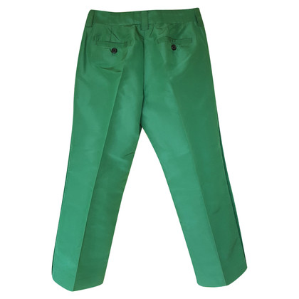 Marc Jacobs Silk Green Trousers