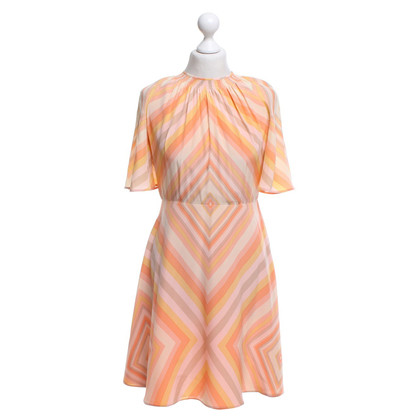 Valentino Robe en soie en orange