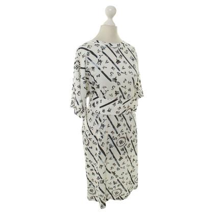 Balenciaga Sommerkleid mit Muster