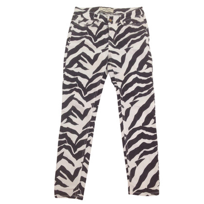 By Malene Birger Jeans with zebra print