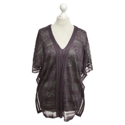 Missoni top with hole knitting