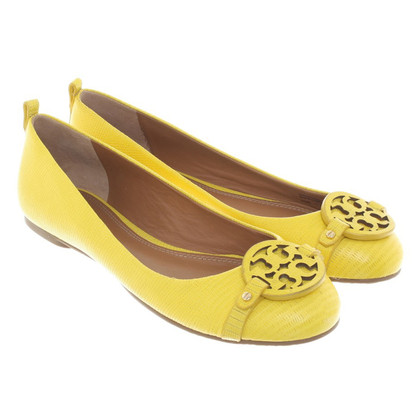 Tory Burch Ballerinas in Gelb