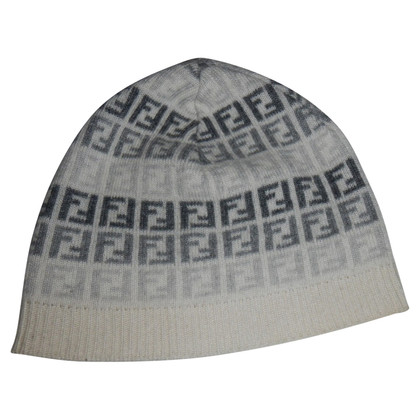 Fendi Hat with Zucca pattern
