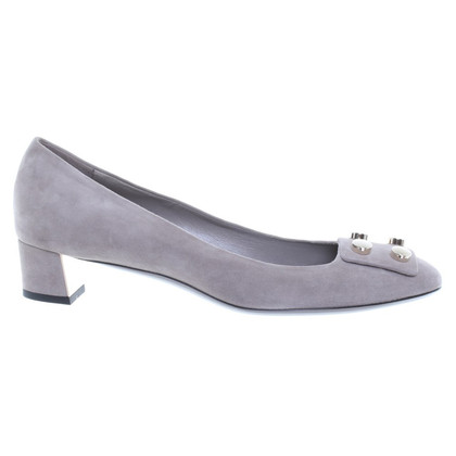 Gucci Pumps in Grau
