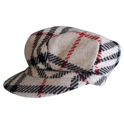 Burberry Wool cap with Nova check pattern