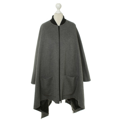 Barbara Bui Grey wool Cape