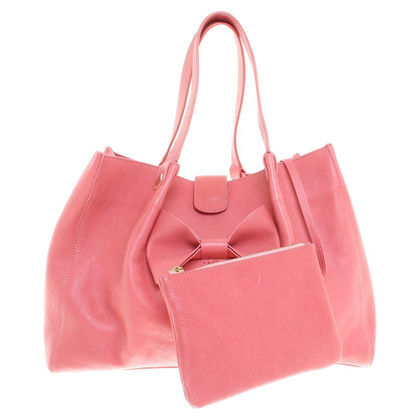 Red Valentino Handbag with loop application