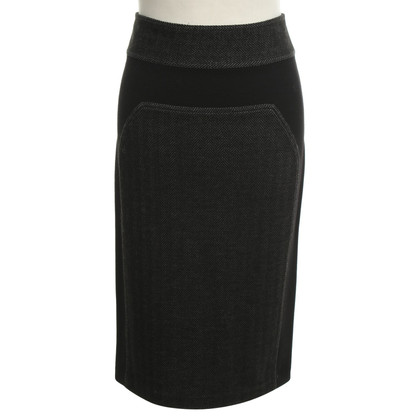 Diane von Furstenberg skirt in black / grey