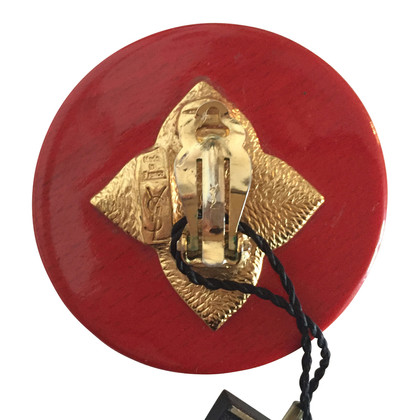Yves Saint Laurent  Clip earrings