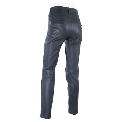 Balmain Biker leather pants