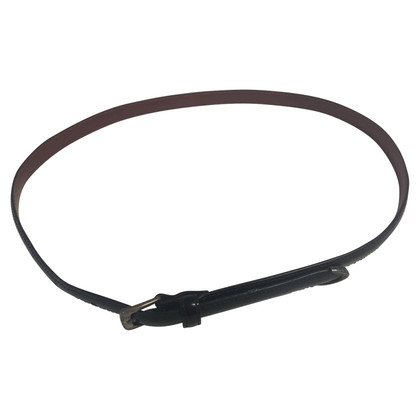 Ralph Lauren Narrow leather belt