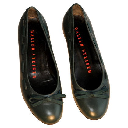 Walter Steiger Ballerinas in green