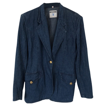 Moschino Jeans blazer in blue