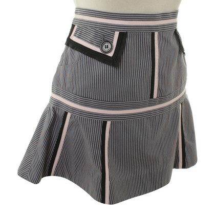Marc Jacobs Striped mini skirt