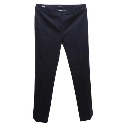 Max Mara Pantalone in blu scuro