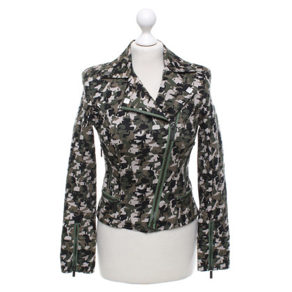 Karl Lagerfeld Jacke mit Camouflage-Muster