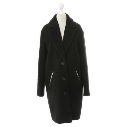 Set Mantel in Schwarz