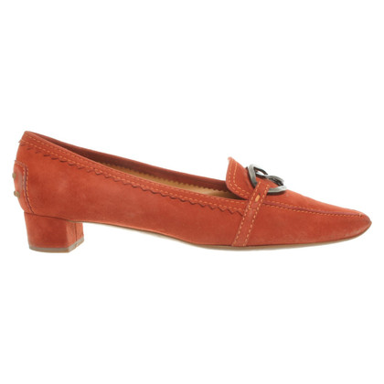 Tod's pumps in orange