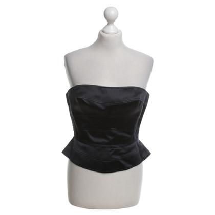 Mugler corsetto nero